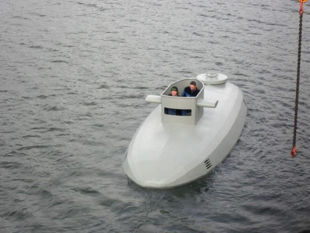 aluminum onderzeeer